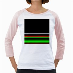 Colorful Neon Background Images Girly Raglan by Samandel