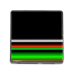 Colorful Neon Background Images Memory Card Reader (square 5 Slot)