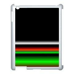 Colorful Neon Background Images Apple Ipad 3/4 Case (white) by Samandel