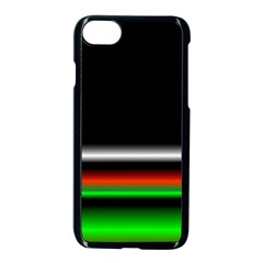 Colorful Neon Background Images Apple Iphone 7 Seamless Case (black)