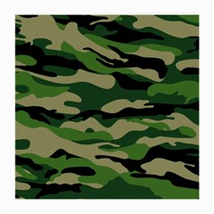 Green Military Vector Pattern Texture Medium Glasses Cloth