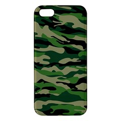 Green Military Vector Pattern Texture Apple Iphone 5 Premium Hardshell Case