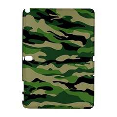 Green Military Vector Pattern Texture Samsung Galaxy Note 10 1 (p600) Hardshell Case
