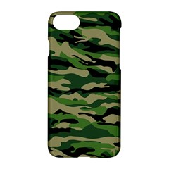 Green Military Vector Pattern Texture Apple Iphone 7 Hardshell Case