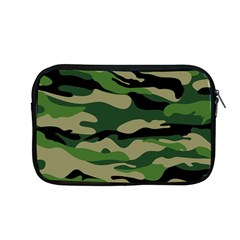 Green Military Vector Pattern Texture Apple Macbook Pro 13  Zipper Case