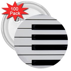 Keybord Piano 3  Buttons (100 Pack)