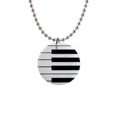 Keybord Piano Button Necklaces