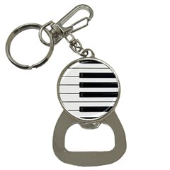 Keybord Piano Bottle Opener Key Chains