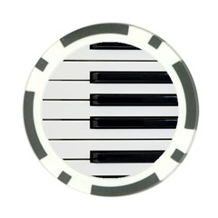Keybord Piano Poker Chip Card Guard