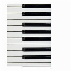 Keybord Piano Large Garden Flag (two Sides)