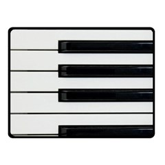 Keybord Piano Double Sided Fleece Blanket (small)  by Samandel