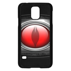 Red Eye Samsung Galaxy S5 Case (black) by Samandel