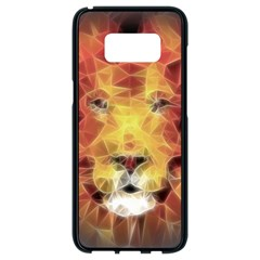 Fractal Lion Samsung Galaxy S8 Black Seamless Case