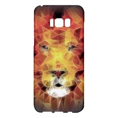 Fractal Lion Samsung Galaxy S8 Plus Hardshell Case