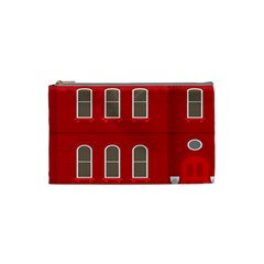 Red House Cosmetic Bag (small)