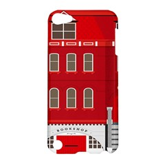 Red House Apple Ipod Touch 5 Hardshell Case by Samandel