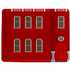 Red House Jigsaw Puzzle Photo Stand (rectangular)