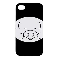 Pig Logo Apple Iphone 4/4s Hardshell Case