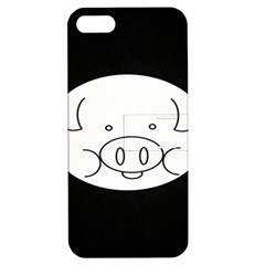 Pig Logo Apple Iphone 5 Hardshell Case With Stand by Samandel