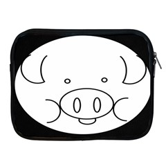 Pig Logo Apple Ipad 2/3/4 Zipper Cases by Samandel
