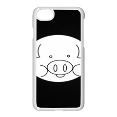 Pig Logo Apple Iphone 7 Seamless Case (white) by Samandel
