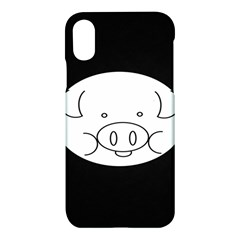 Pig Logo Apple Iphone X Hardshell Case