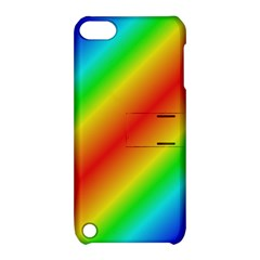 Background Diagonal Refraction Apple Ipod Touch 5 Hardshell Case With Stand