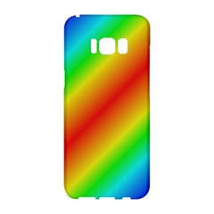 Background Diagonal Refraction Samsung Galaxy S8 Hardshell Case