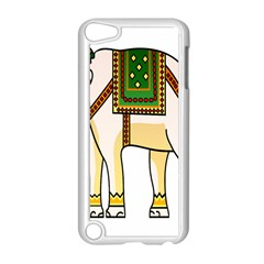 Elephant Indian Animal Design Apple Ipod Touch 5 Case (white) by Samandel