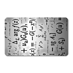 Science Formulas Magnet (rectangular) by Samandel