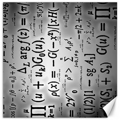Science Formulas Canvas 20  X 20