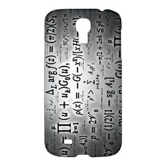 Science Formulas Samsung Galaxy S4 I9500/i9505 Hardshell Case by Samandel