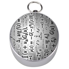Science Formulas Silver Compasses