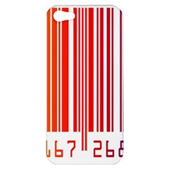 Colorful Gradient Barcode Apple Iphone 5 Hardshell Case
