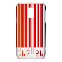 Colorful Gradient Barcode Samsung Galaxy S5 Mini Hardshell Case