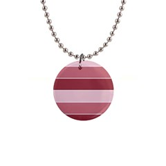 Striped Shapes Wide Stripes Horizontal Geometric Button Necklaces