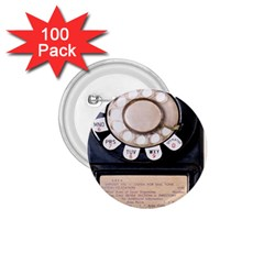 Vintage Payphone 1 75  Buttons (100 Pack)