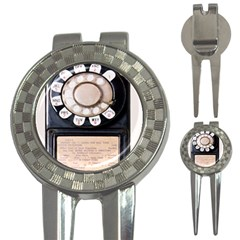 Vintage Payphone 3 In 1 Golf Divots by Samandel