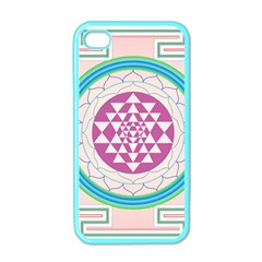 Mandala Design Arts Indian Apple Iphone 4 Case (color) by Samandel
