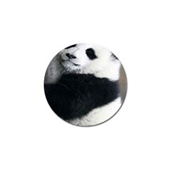 Panda Bear Sleeping Golf Ball Marker