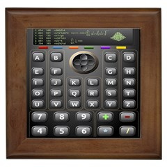 Scientific Solar Calculator Framed Tiles