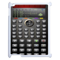Scientific Solar Calculator Apple Ipad 2 Case (white) by Samandel