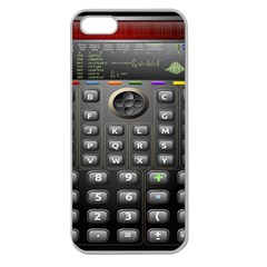 Scientific Solar Calculator Apple Seamless Iphone 5 Case (clear) by Samandel