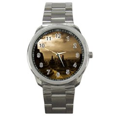 Borobudur Temple  Indonesia Sport Metal Watch