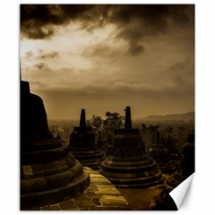 Borobudur Temple  Indonesia Canvas 20  X 24