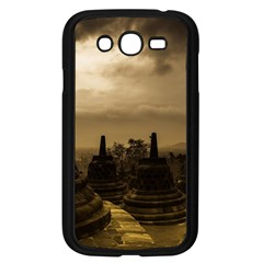 Borobudur Temple  Indonesia Samsung Galaxy Grand Duos I9082 Case (black)