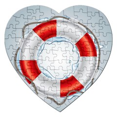 Spare Tire Icon Vector Jigsaw Puzzle (heart)