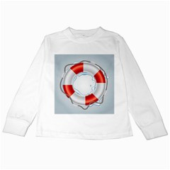 Spare Tire Icon Vector Kids Long Sleeve T Shirts