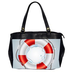 Spare Tire Icon Vector Oversize Office Handbag (2 Sides)