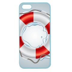Spare Tire Icon Vector Apple Seamless Iphone 5 Case (color)
